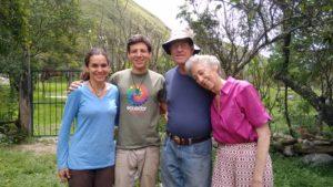 Marion und Kai zu besuch bei Walter und Susan auf der Finca Sagrada